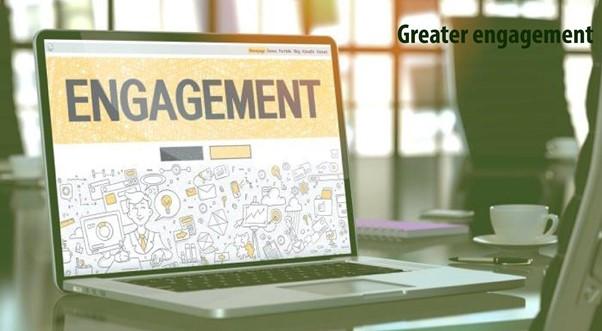 Advantages of Digital Marketing-Greater Engagement