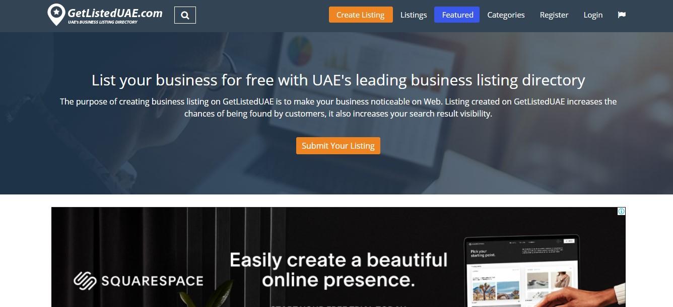 Get Listed UAE