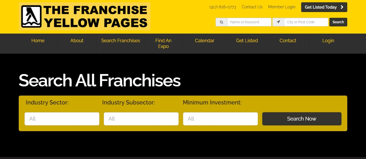 The franchise Yellow pages