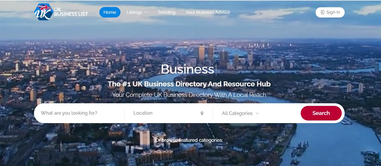 UK Business List