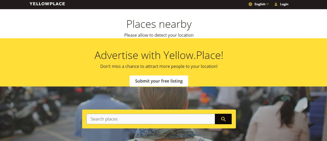 Yellow place