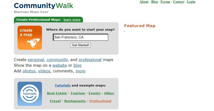community walk