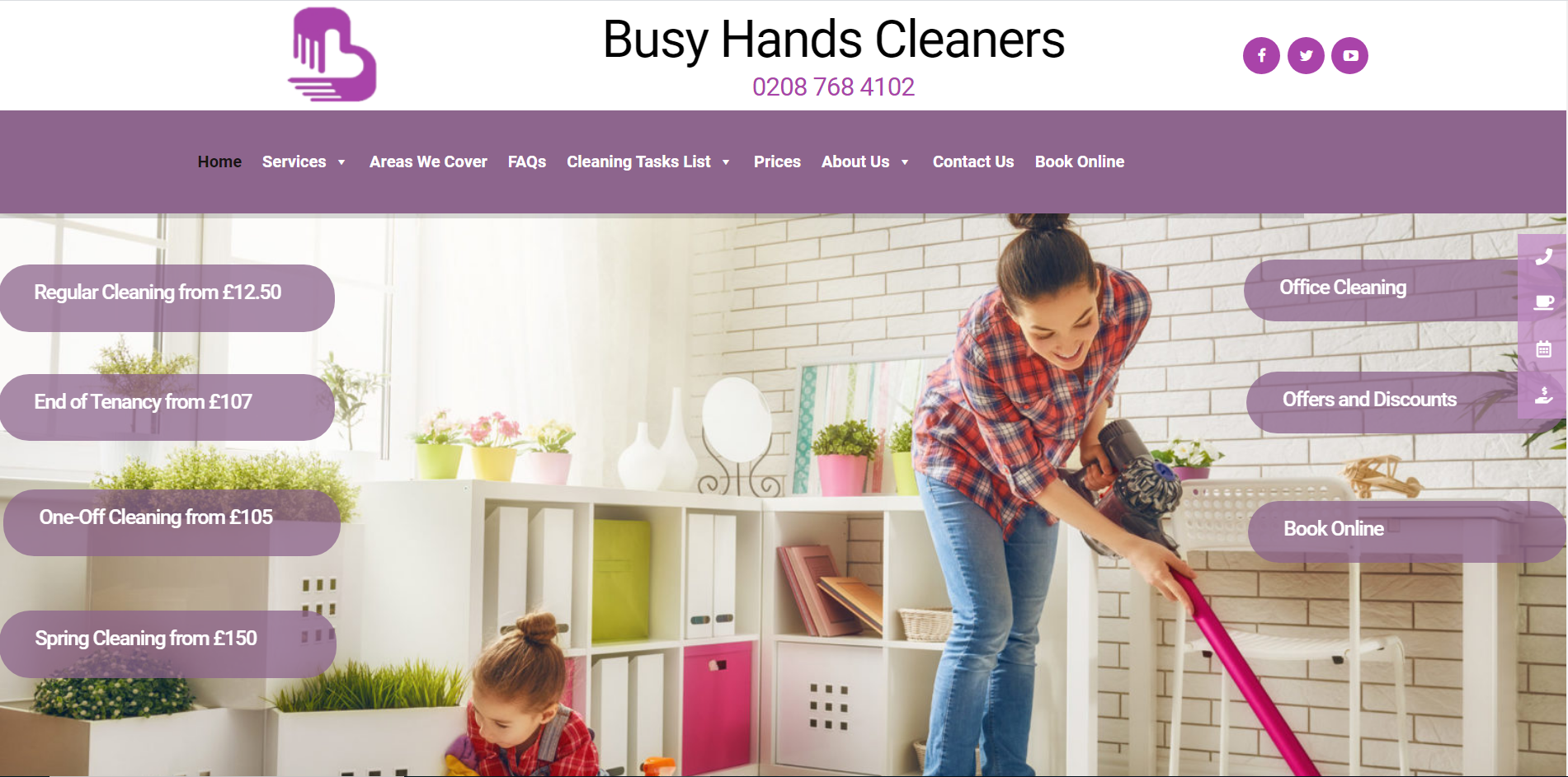 Busy Hands Cleaners