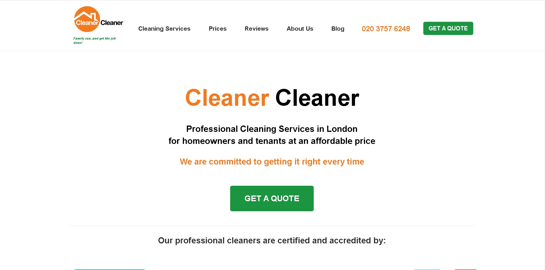 Cleaner Cleaner
