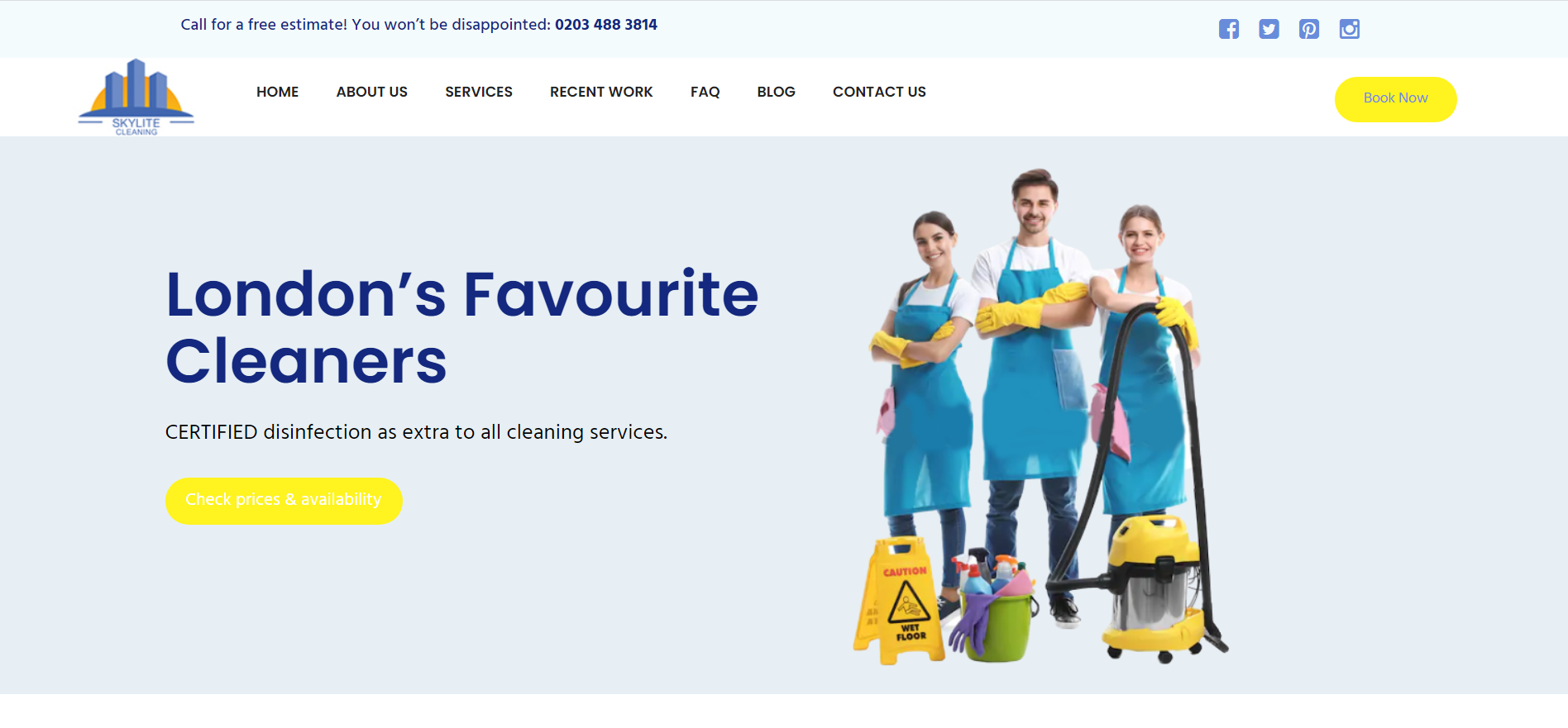 Skylite Cleaners