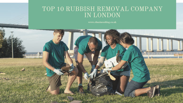 Top 10 Rubbish removal company in London