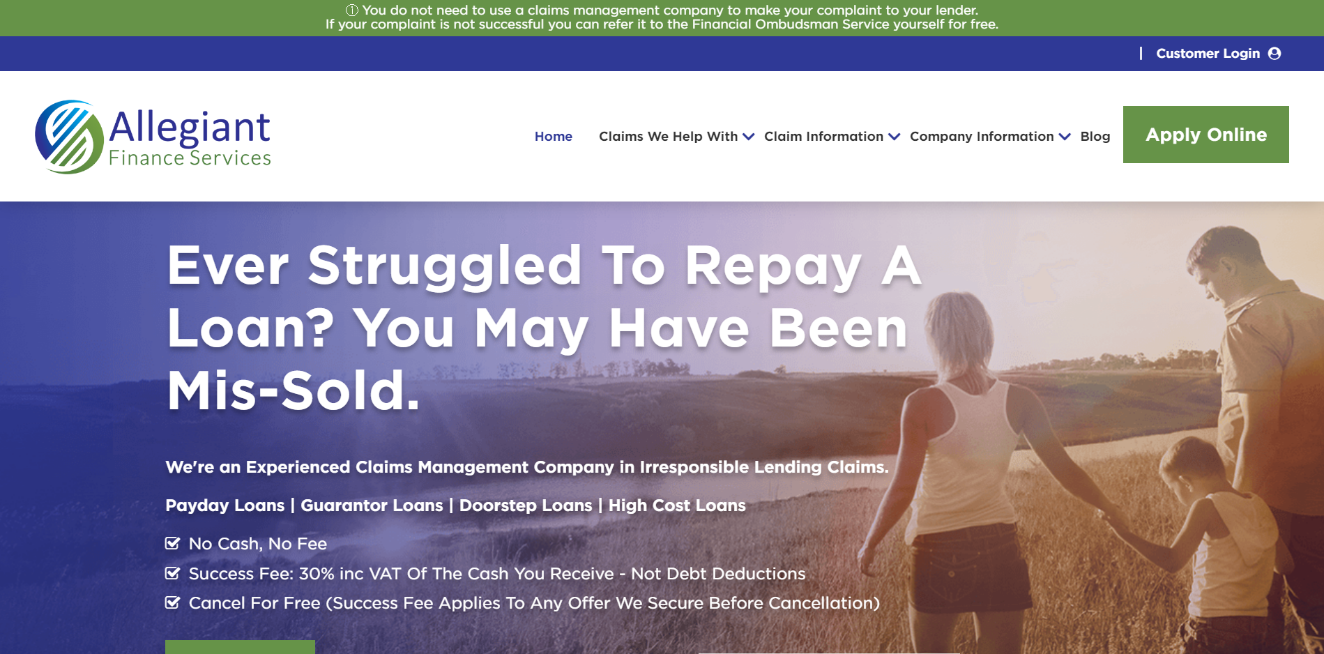 Allegiant Financial Services