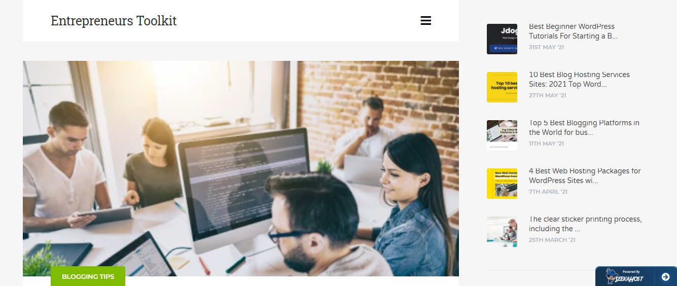 Entrepreneurs Toolkit