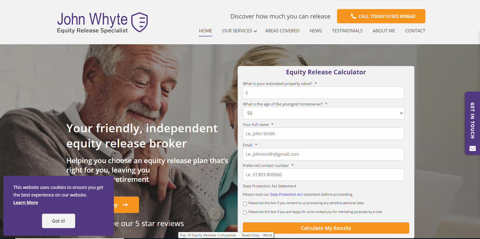 Equity Release Sussex