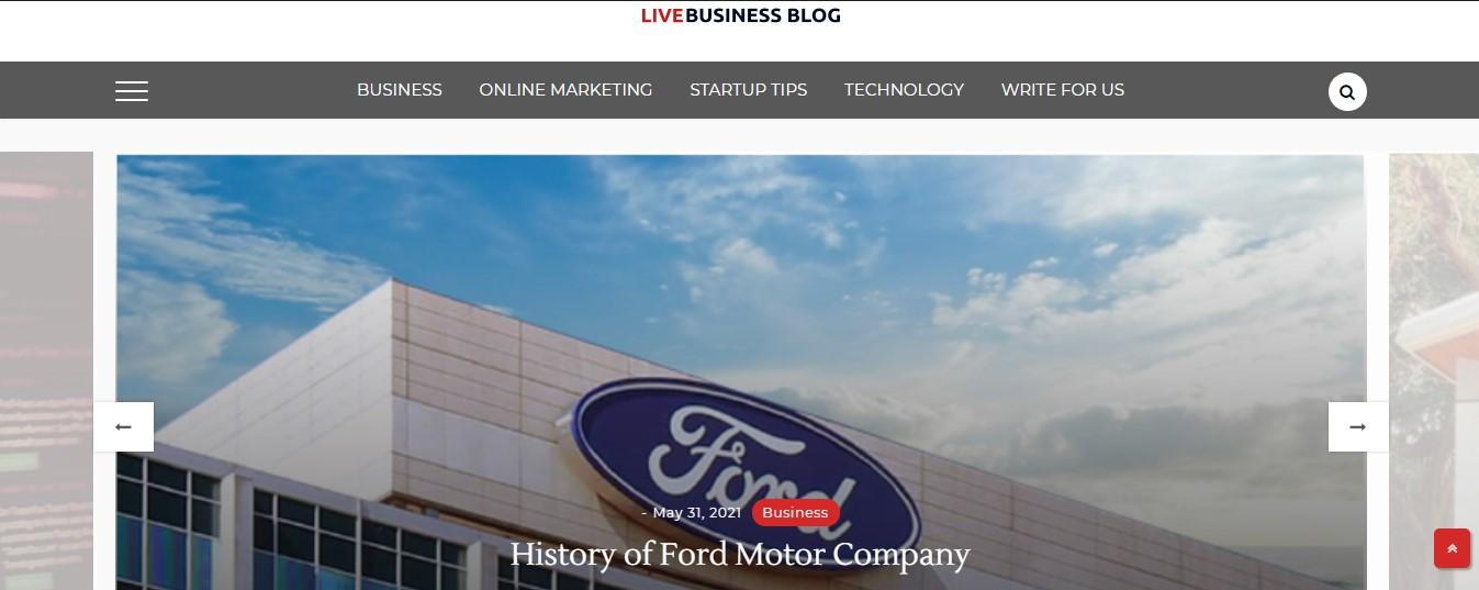 Live Business blog