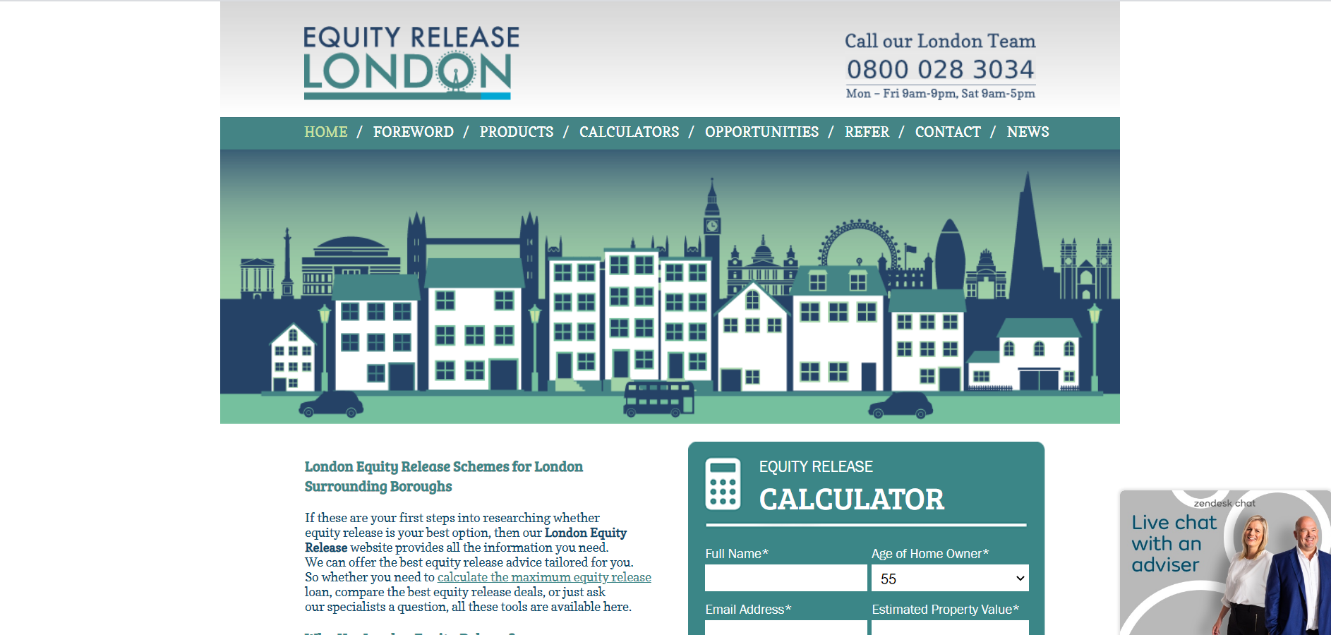 London Equity Release#