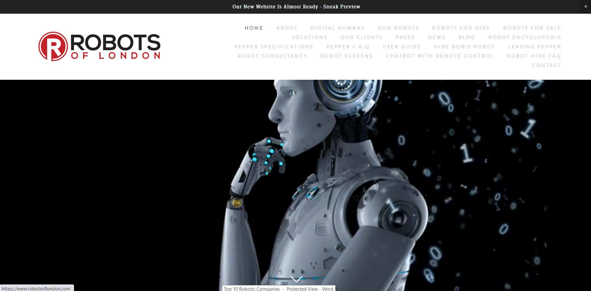 Robots of London
