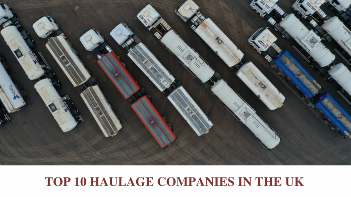 TOP 10 HAULAGE COMPANIES IN THE UK