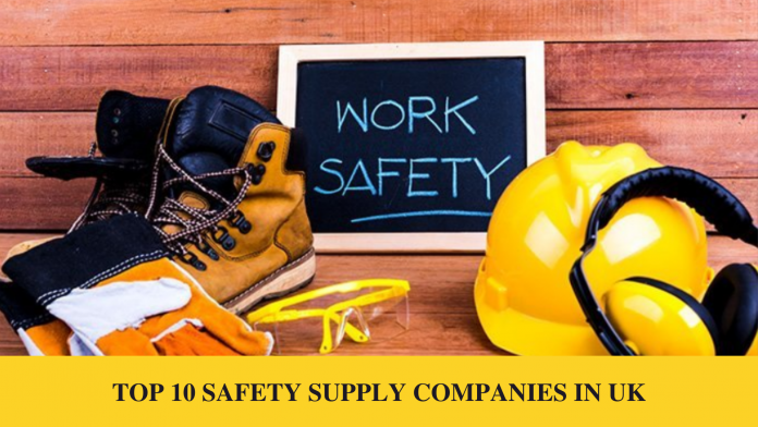 TOP 10 SAFETY SUPPLY COMPANIES IN UK