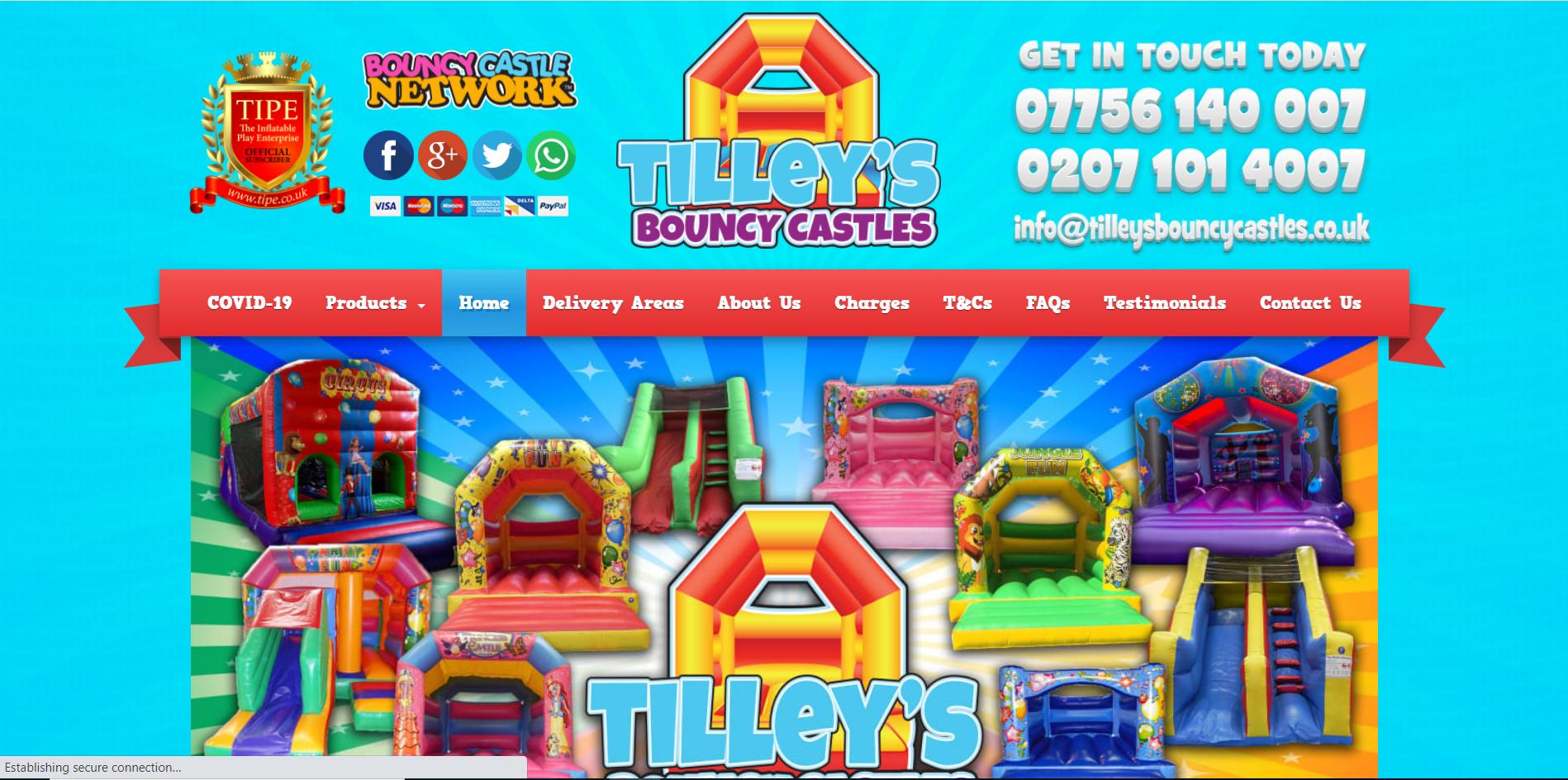 Tilleys Bouncy Castle