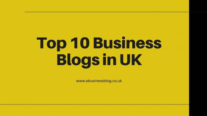 Top 10 Business Blogs in UK