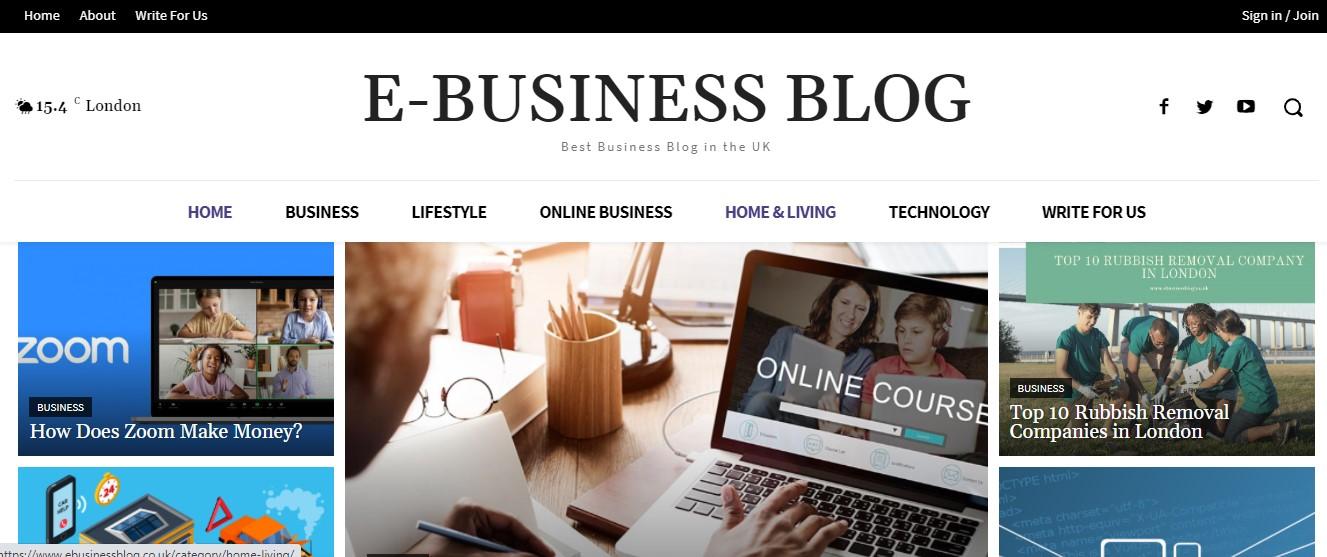 ebusiness blog