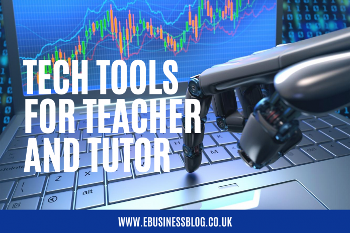 9 Awesome Tech Tools Every Teacher & Tutor Should Know