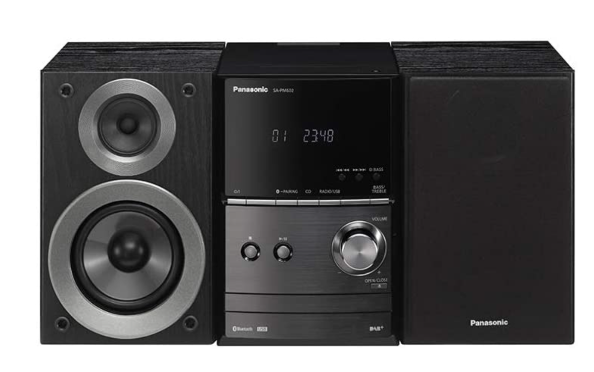 Panasonic SC-PM602 Wireless Traditional Hi-Fi Micro System