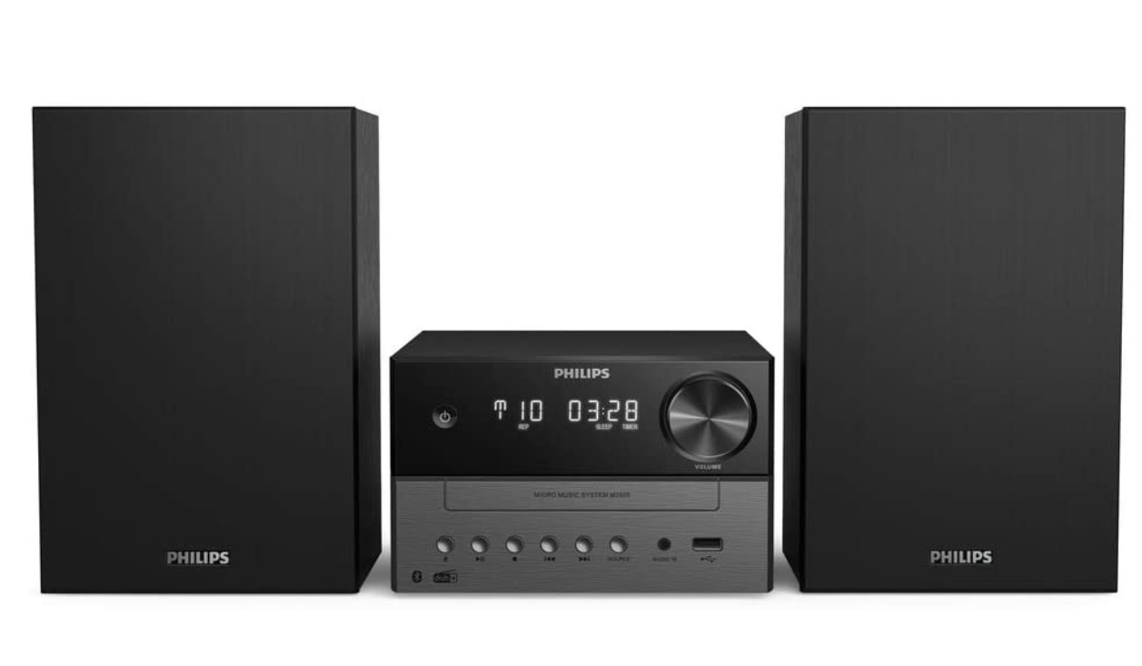 Philips Audio M3505 12 Micro Music System with Bluetooth (Hifi System)