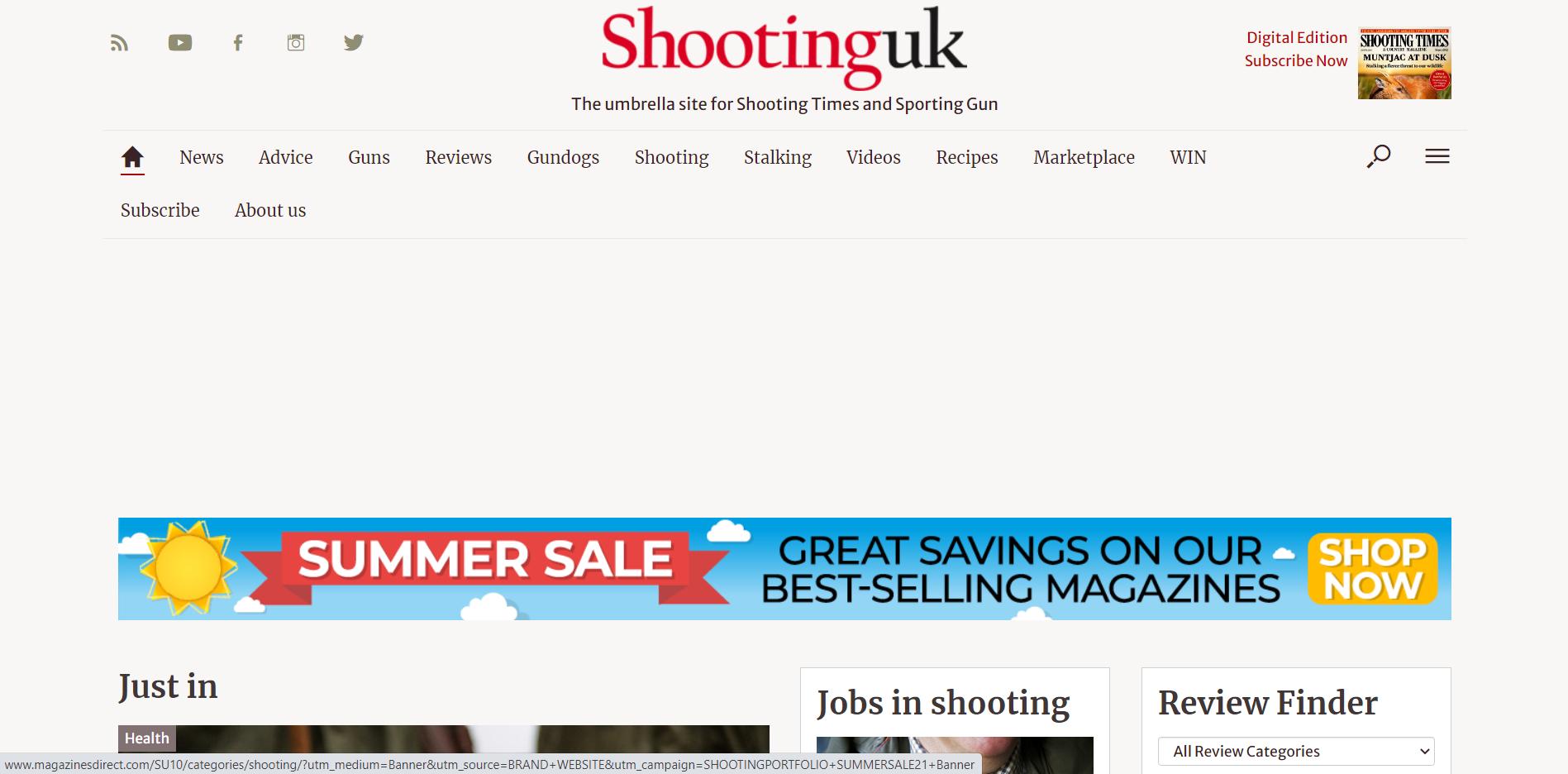 Shooting UK