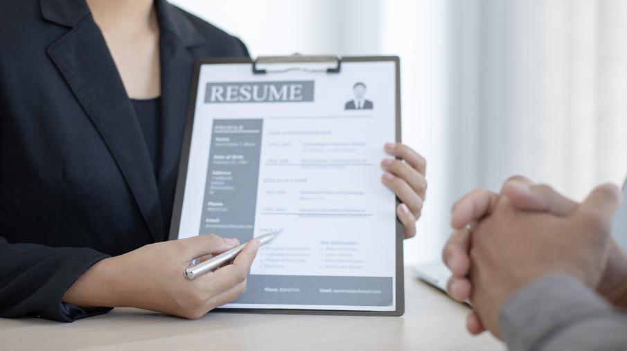 Combination Resume CV Format