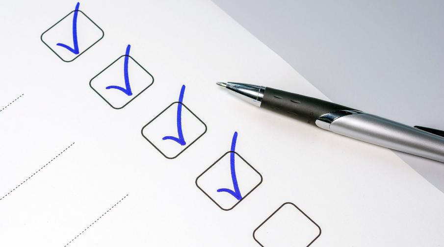 Create a Template of Checklist