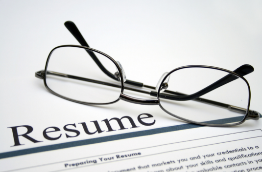 get resume ready for the job search