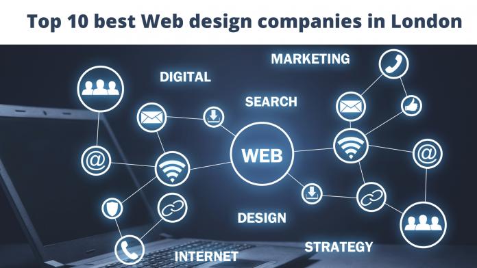 _best Web design companies in London